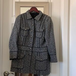 Escada Wool Peacoat Coat size 42